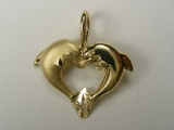 - Jewelry Stores - Dolphins/ Heart Charm