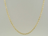 - Jewelry Stores - 10K Super-Solid Rope Chain 2 mm