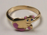 - Jewelry Stores - Kitten Baby Ring 12 mm Inner Diameter