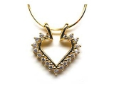 - Jewelry Stores - Diamond Heart Fashion Pendant