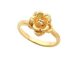 - Jewelry Stores - Rose Flower Diamond Ring